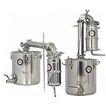 45L Transformer Wine Maker Brew Kit Alcohol Depurator Household Stainless Steel