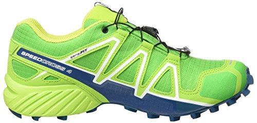 Calzado GTX Running 4 Lime Green Verde Speedcross de Green Classic Trail para Salomon Poseidon Hombre Eqx1tYw7qn