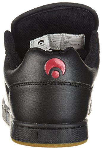 Osiris Loot Shoes - Black/Red/Gum UK 11