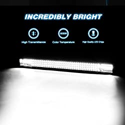 LED Light Bar Nilight 32Inch 378W Triple Row 37800