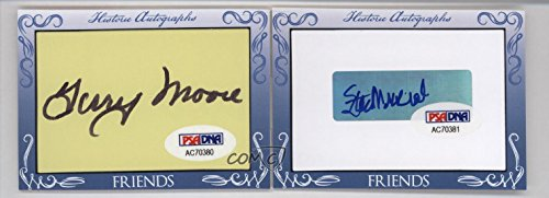 Terry Moore; Stan Musial Aftermarket Auto PSA/DNA Certified COA Sticker (Trading Card) 2016 Historic Autographs Friends 'N Foes Cut Autographs - [Base] #TMSM