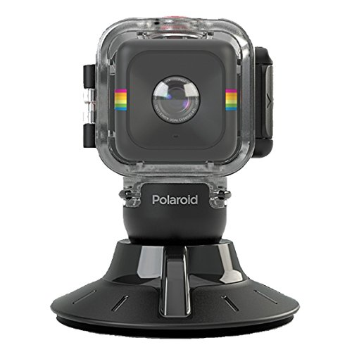 Polaroid Waterproof Case and Suction Mount for CUBE Action Video Camera POLC3WSM