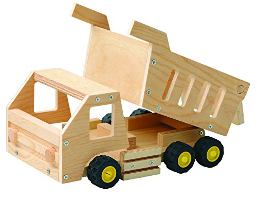 ASO Red Tool Box Dump Truck