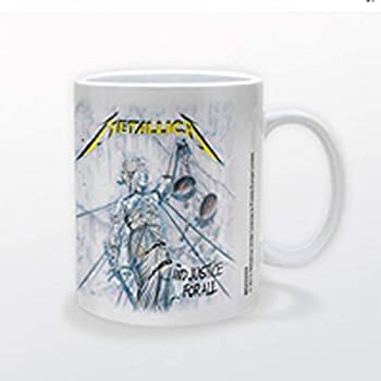 New Officially Licensed Metallica Ride the Lightning 20 Ounce Ceramic Coffee Mug