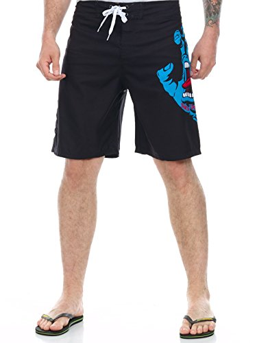 Santa Cruz Screaming Hand Boardshorts 36 inch Black ()