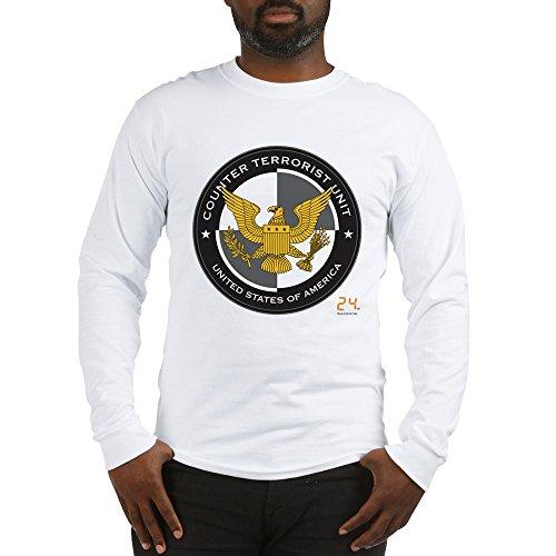 CafePress 24 CTU Logo Unisex Cotton Long Sleeve T-Shirt White ()