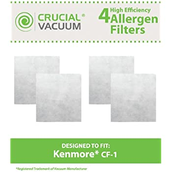 how to change all filters in kenmore whispertone canister vacuum