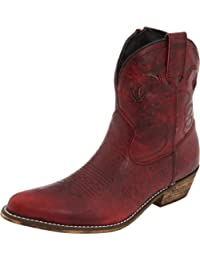 Dingo Women's Adobe Rose Leather Boots