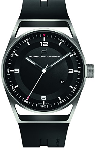 Porsche Design 1919 Datetimer Automatic Watch, Titanium & Rubber