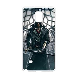 Assassin'S Creed Syndicate Samsung Galaxy Note 4 Cell Phone Case White 218y-058853