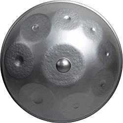 Handpan 9 Notes with Softcase and Cover (20.8 inch (53cm), Hijaz Kaffa (G))