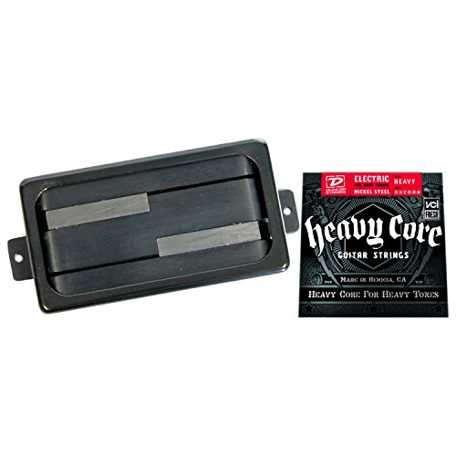 Lace Deathbucker Humbucker Pickup - Black Ring w/ Heavy Core Strings ()
