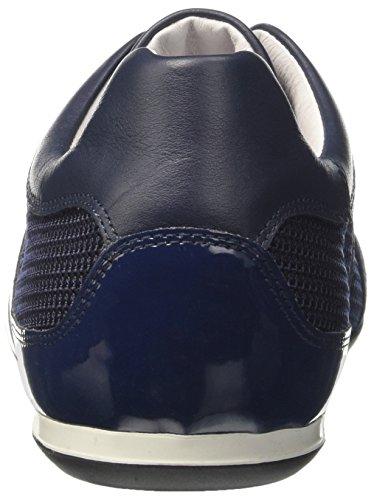 Bikkembergs Springer 012, Zapatillas de Estar por Casa para Hombre Blu (Blue/silver)