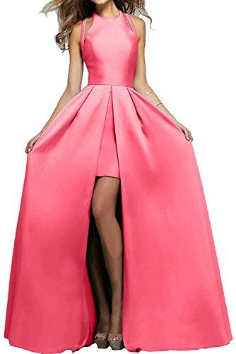 Satin Braut mia Festlichkleider Elegant Damen Gruen La Partykleider Jugendweihe Apfel Lang Kleider Wassermelon Mode Abendkleider CnRwdWTw