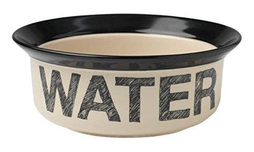 "Petrageous Designs Pooch Basics 6"" Pet Bowl, Water"