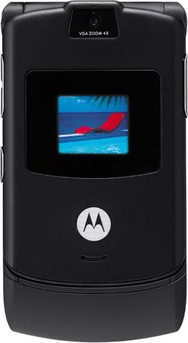 amazon com motorola razr v3 black at t cell phones accessories rh amazon com Motorola RAZR V3M Motorola RAZR V9