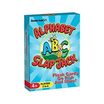 Alphabet Slap Jack ~ a Fun Preschool ABC Letter Learning Card Game ~ Kids Learn Upper/Lowercase Letter Recognition and Letter Sounds While Playing a Fun Card Game