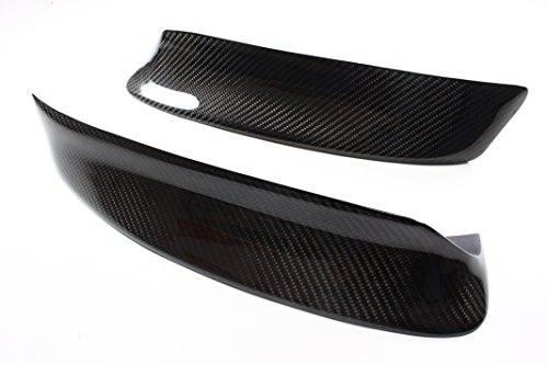 B2 BMW CSL Style Carbon Fiber Front Splitters for 1999-2006 E46 M3 Bumper Only