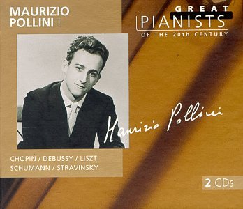 Maurizio Pollini I (Great Pianists of the Century) - Chopin / Debussy / Liszt / Schumann / Stravinsky / Webern (2 CDs) by Polygram Records Philips