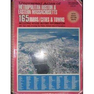 Universal atlas of metropolitan Boston & eastern Massachusetts by Universal Publishing Co, Micheal Glassman (Spiral-bound)