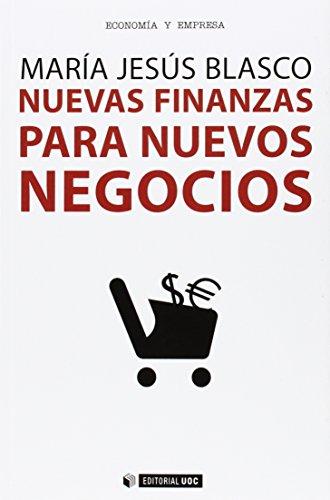 Descargar Libro Nuevas Finanzas Para Nuevos Negocios Mª Jesús Blasco