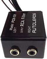 Filtro de activo 12 V RCA 2 x RCA Amplificador Amplificador ...