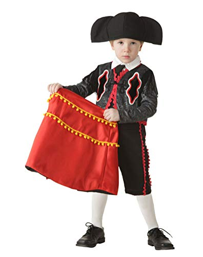 Spanish Matador Costume Baby Boys, Toddler Halloween Cosplay Outfit (Tag Size-2T) for $<!--$64.99-->