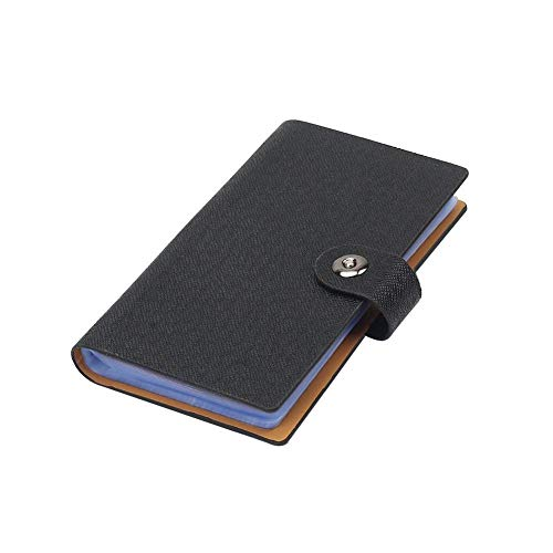 Organizing Business Cards - Tenn Well Business Card Holder Book with Magnetic Closure for Organizing Business Cards, Credit Cards, Membership Cards
