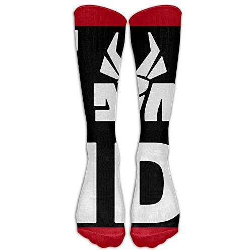 SADDFAWW-Die-Antwoord-Zef-Side-Logo-Ugly-Boy-Women-Tube-Knee-Thigh-High-Stockings-Cosplay-Socks