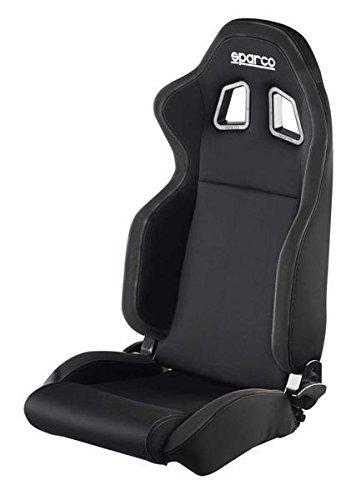 Sparco 00961NRNR Seat R100 Black//Black