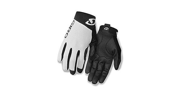Giro Rivet II bicicleta guantes largo blanco/negro 2016 ...