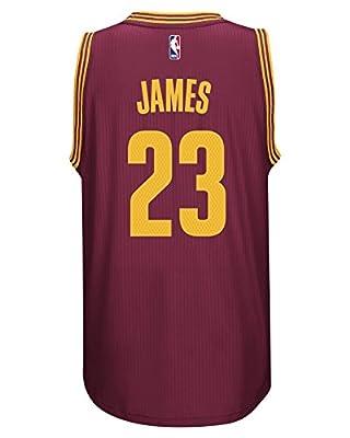 Adidas Men's Cleveland Cavaliers NBA LeBron James Swingman Jersey