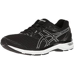 ASICS Men's Gel-Excite 4 Running Shoe, Black/Onyx/Silver, 9.5 M US