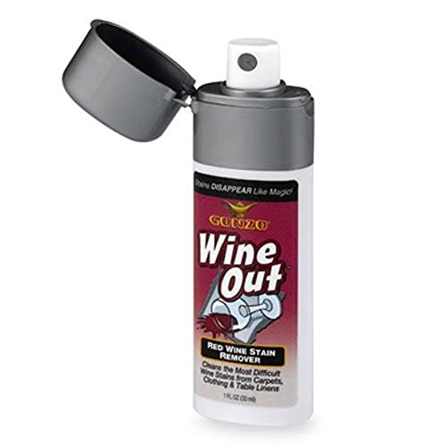 "Red Wine Stain Remover - ""WINE OUT"", Travel Pocket Spray"