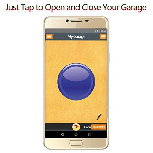 Datonten Smart Garage Door Opener Bluetooth Garage Door Remote Open