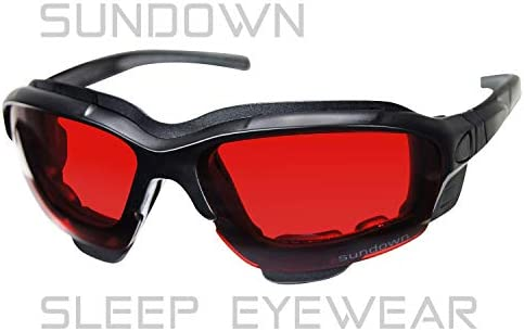 Sundown Sleep Eyewear PaleoTech%C2%A9 pre sleep product image