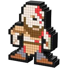 PDP Pixel Pals God of War Kratos Collectible Lighted Figure, 878-035-NA-KRATOS