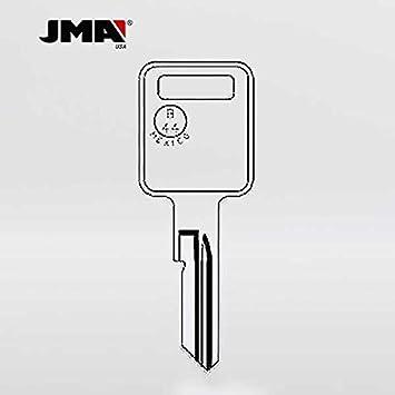 "BOX OF 10 GM Logo OEM IGNITION /""E/"" Key Blank Uncut"