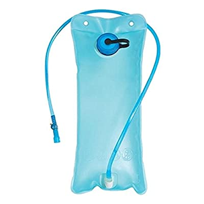 Ezyoutdoor 2L Water Bladder Bag Bicycle Bike Cycling Camping Mouth Hydration Hiking,Water Bladder Bag Hydration Camping Hiking Climbing Military Green with Gift Hat