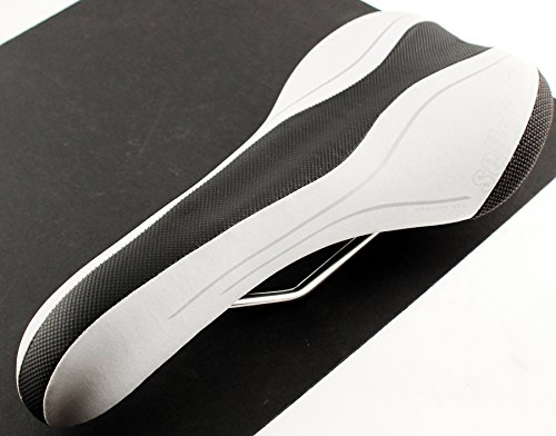 - selle ITALIA SLR T1 VANOX Rails Gel Road Bike Saddle White Mtb Carbon Fiber