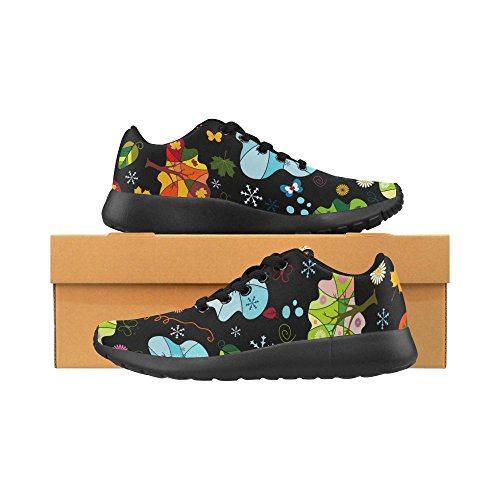 InterestPrint Womens Jogging Running Sneaker Lightweight Go Easy Walking Comfort Sports Athletic Shoes ORfNWrkb