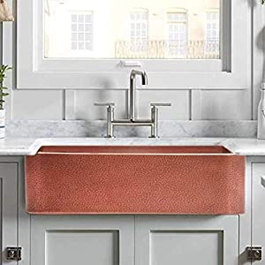 41Q4IQCLVcL._SS300_ 75+ Best Copper Farmhouse Sinks For 2020