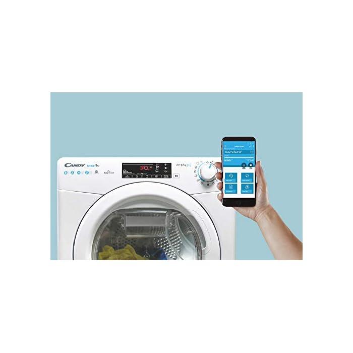 41Q4IYk6IbL Haz clic aquí para comprobar si este producto es compatible con tu modelo Puerta XXL, grande y alta: Di adiós a los dolores de espalda mientras introduces la colada en la lavadora Lavadora conectada a NFC: Conecta tu lavadora con la App Simply-Fi y consigue unos ciclos optimos de lavado