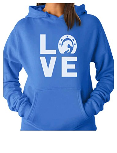Love Horses - Animal Lover Rearing Horse - Gift for Horse Lover Women Hoodie Small California - Horse T-shirt Lovers