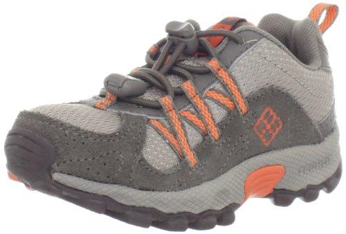 Spark Footwear (Columbia Daybreaker Bungee Closure Hiking Shoe,Tusk/Spark Orange,4 M US Toddler)