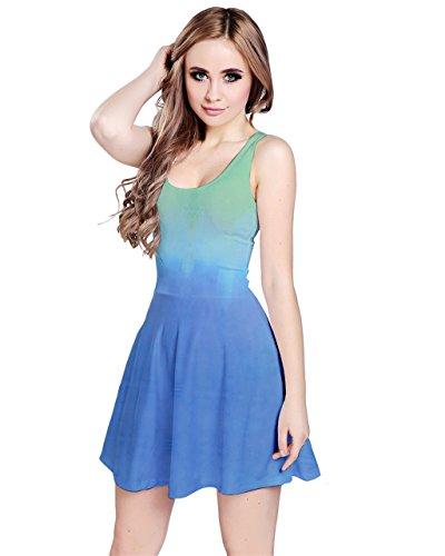 CowCow - Robe - Femme Bleu bleu cristal -  - XXXX-Large
