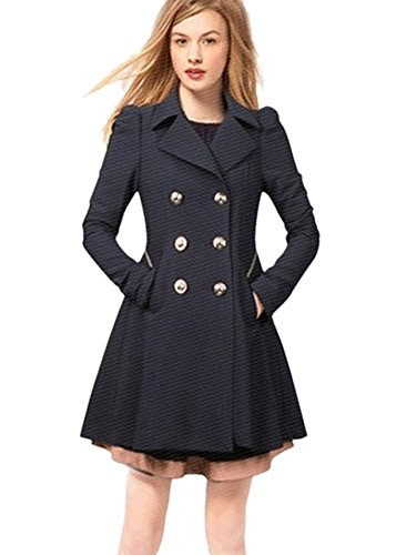HN-Women-Warm-Slim-Elegant-Long-Trench-Coat-Jacket-Double-Breasted-Pea-Overcoat