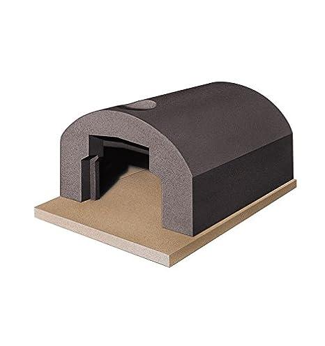 Horno de Leña refractarios prefabbricato exterior Familia 2 pizzas ...