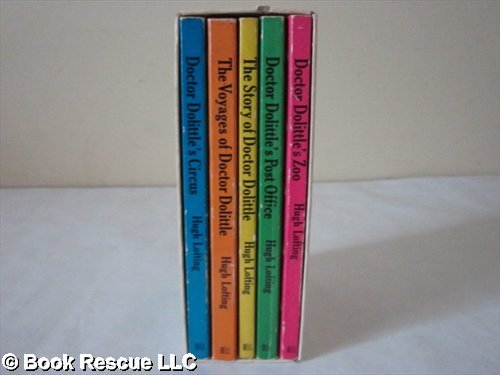 "Doctor Dolittle (Box Set of Five books) The Story Of Doctor Dolittle; Dr Dolittle""s Zoo; The Voyages of Dr Dolittle; Doctor Dolittle's Circus; Dr. Dolittle's Post Office (Boxed Set)"