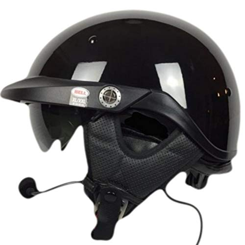 Bell Pit Boss With J&M 787 Headset and Lower Cord GW 5 Pin - Black XXXLarge ()